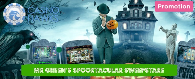 Spooktacular Sweepstake is on at Mr Green Casino