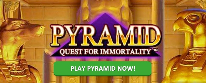 Play Pyramid Quest for Immortality slot at Mr Green Casino