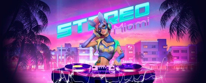 Play Stereo Miami slot on Mr Green casino