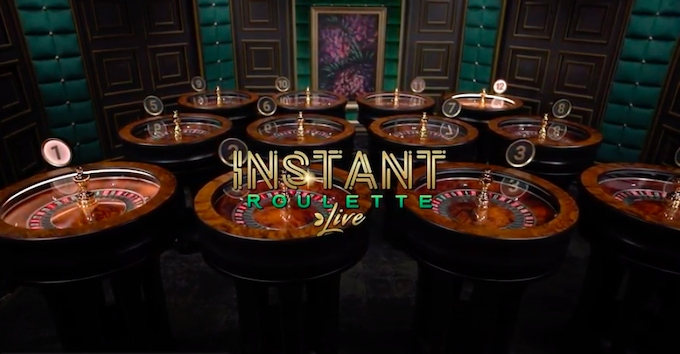 Instant Roulette by Evolution Gaming