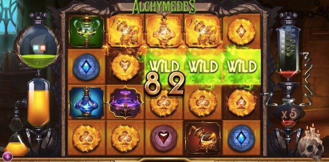 Play Alchymedes slot at Unibet Casino
