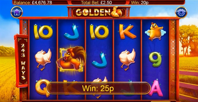 Play Golden slot at Casumo casino