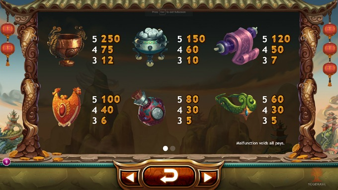 Play Legend of the Golden Monkey slot on Mr Green Casino