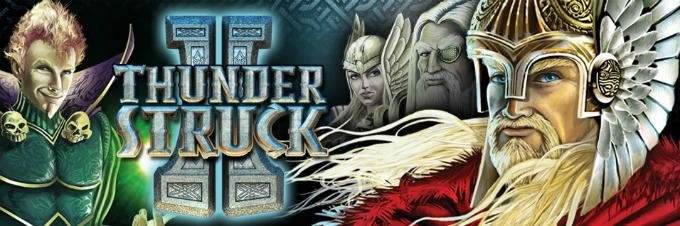 Play Thunderstruck II slot at Rizk casino