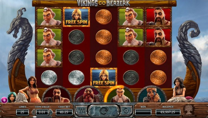 Play Vikings Go Berzerk at Mr Green casino