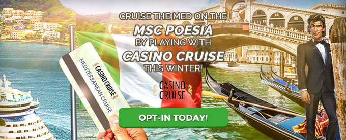 Opt in with Casino Cruise