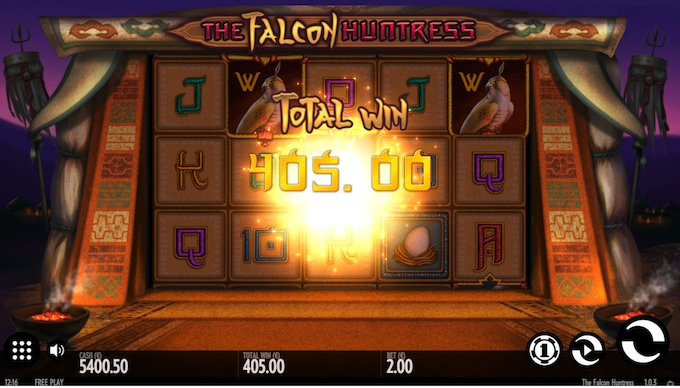 Falcon Huntress slot big win!