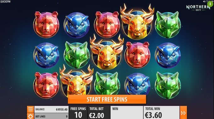 Northern Sky slot_free spins