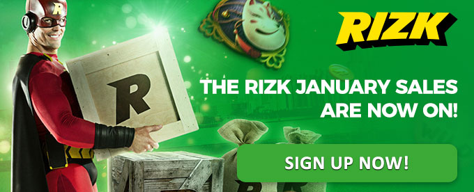 Sign Up for the Rizk January Sales!