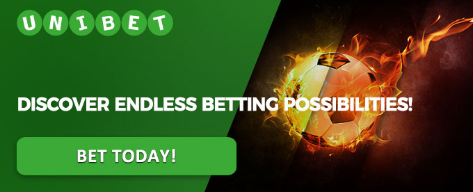 Bet today with Unibet casino!