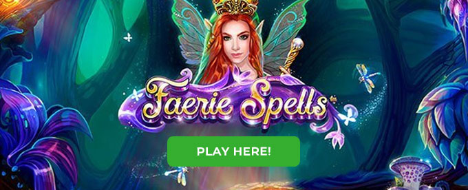 Click to play Faerie Spells slot