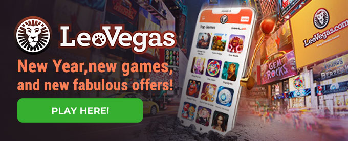 Click here to play with LeoVegas casino!