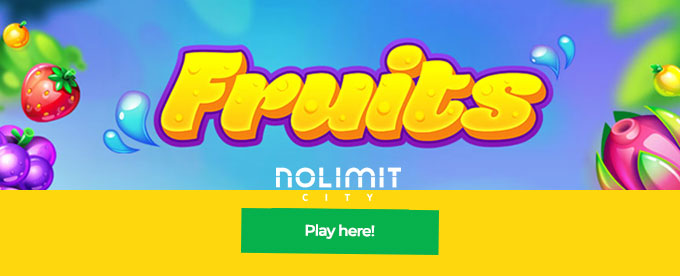 Click here to play Fruits slot