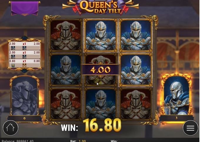 Queen's Day Tilt Accession feature