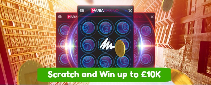Win up to £10K at Maria Casino