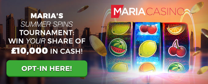 Click to opt-in for Maria Casino's tournament
