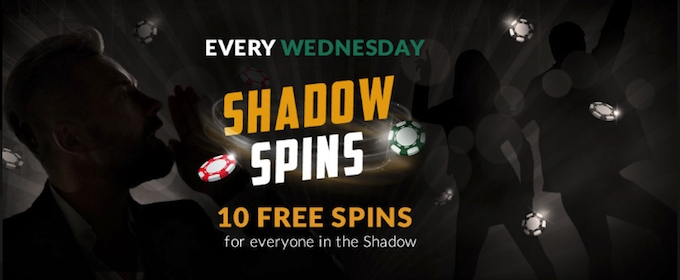 Shadowbet Wednesday free spins