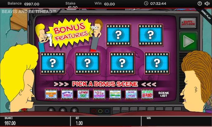 Beavis and Butthead slot by Bluepring Gaming