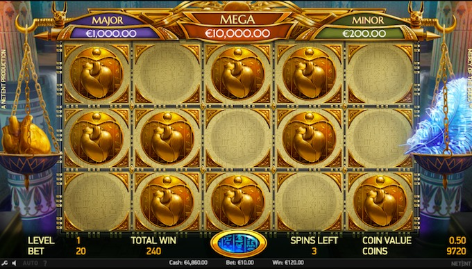 Mercy of the Gods slot jackpot bonus
