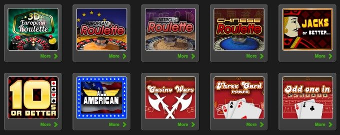 1x2 gaming casino and card games