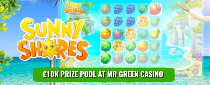 Win a share of £10,000 at Mr Green Casino