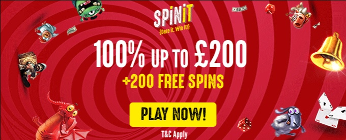 Play on Spinit casino