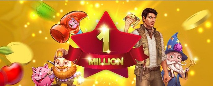Win a share of 1 Million free spins at Mr Smith Casino