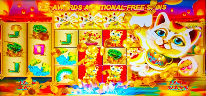 Astro Cats slot free spins