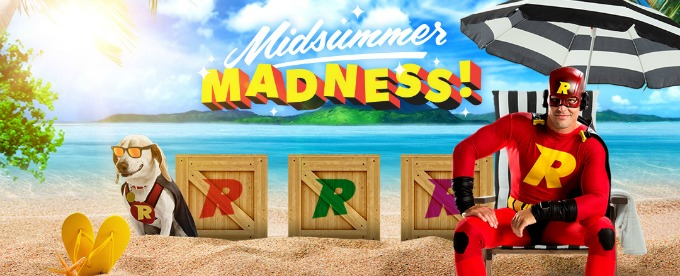 Win £100 daily at Rizk Casino Midsummer Madness