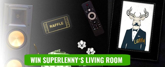 Win Lenny's living room here