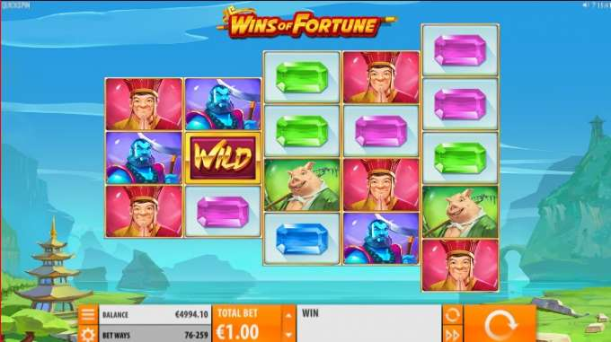 Wins of Fortune slot review and bonus