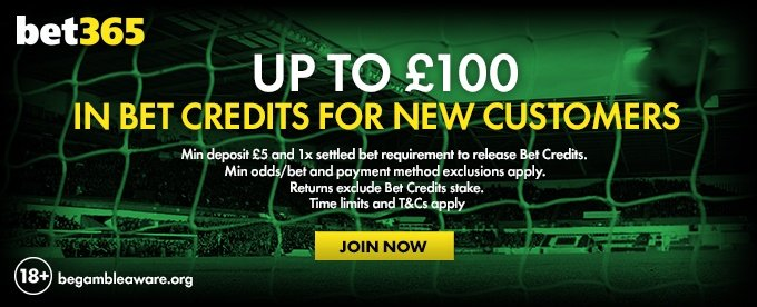 Bet365 Welcome Offer
