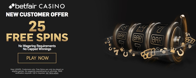 Betfair free spins no wagering requirements
