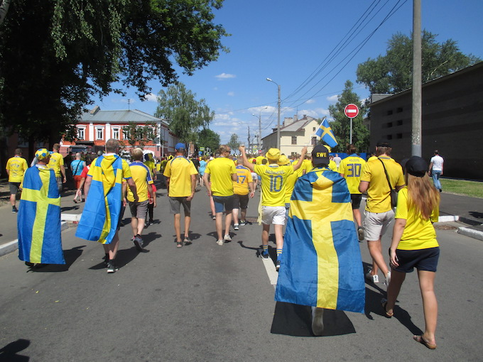 The Swedish at the World Cup