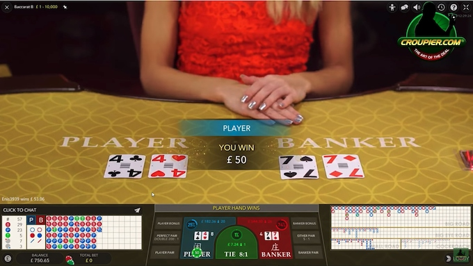 Contemporary Live Baccarat UK