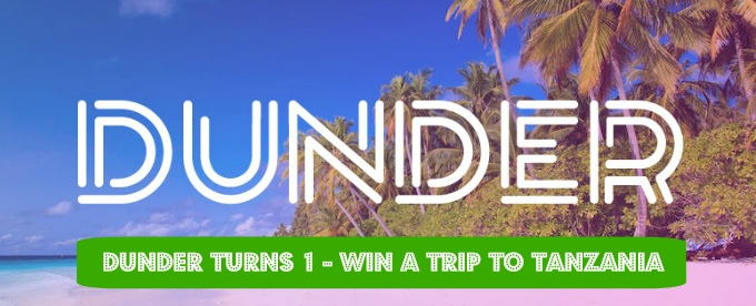 Win a trip to Tanzania with Dunder Casino