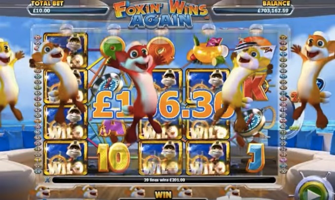 Foxin Wins Again slot features