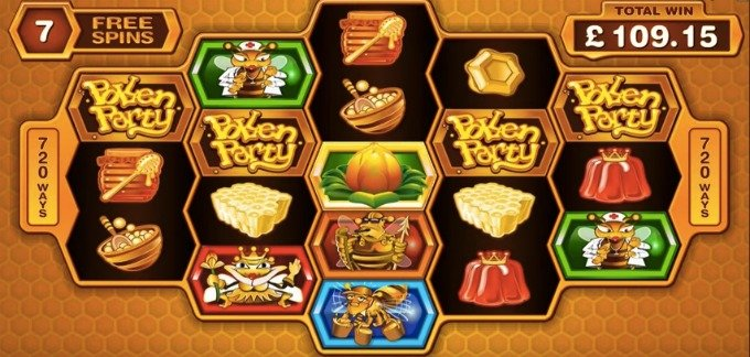 Play Pollen Party at Betsafe casino