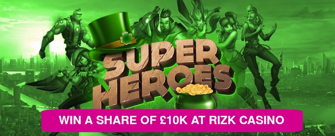 Win up to £2,500 at Rizk Casino