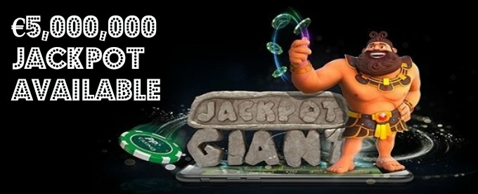 Play Jackpot Giant slot at PaddyPower casino