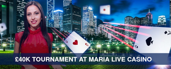 Win Up to £5K at Maria Casino Live tournament
