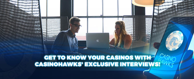 Casino interviews header
