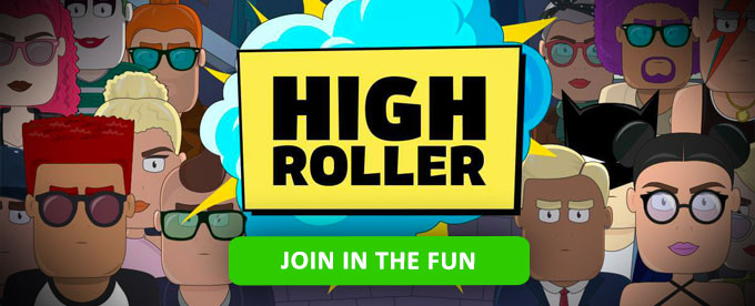 Join in the fun at High Roller casino