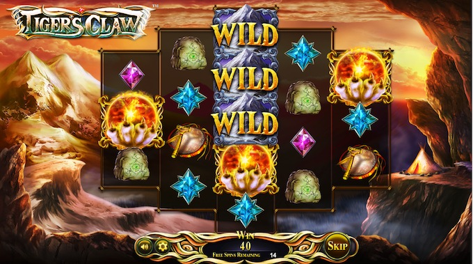 Tigers Claw slot free spins