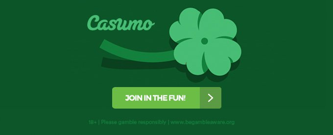 Casumo casino St Patricks promotions