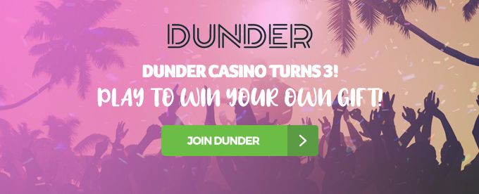 Click to join Dunder casino