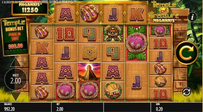 Temple of Treasures slot review