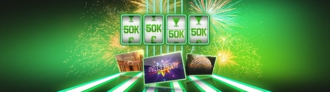 Unibet casino - Lucky Spin Tournaments
