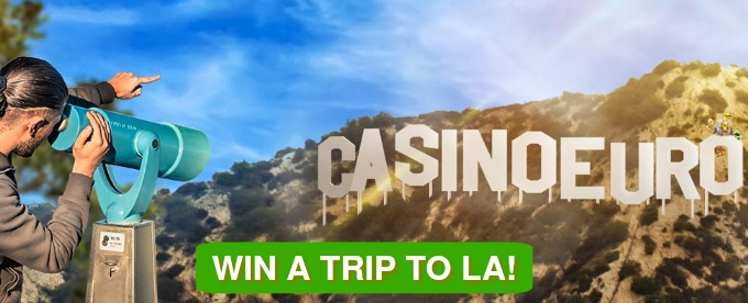 Win a trip to LA, gadgets, cash and free spins