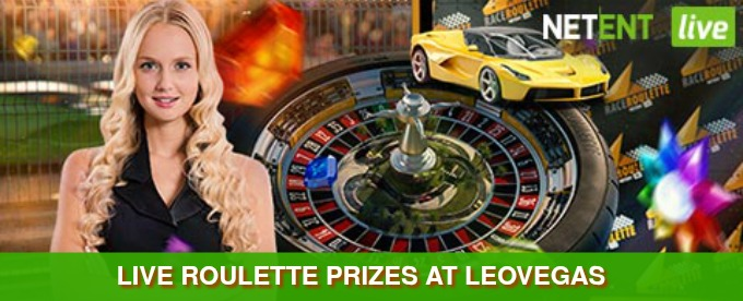 Play and win at LeoVegas Live Roulelte this May